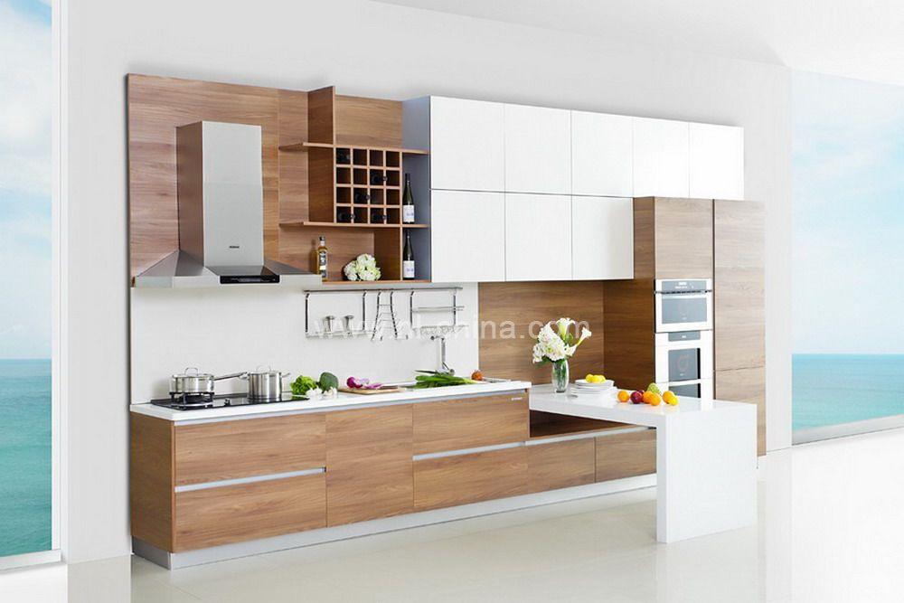 mfc kitchen cabinet melamine kitchen cabinet melamine cabinet kc 2080. Black Bedroom Furniture Sets. Home Design Ideas