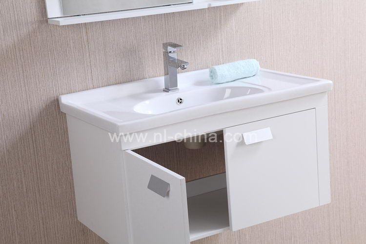 Customized wall mounted modern bathroom cabinet pvc  PVC bathroom vanity  units B 8020. Customized wall mounted modern bathroom cabinet pvc  PVC bathroom