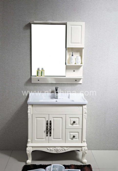 American style floor mounted bathroom storage cabinets (B ...