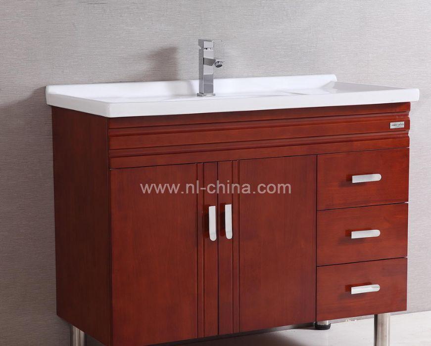 free standing three drawing customized bathroom sink
