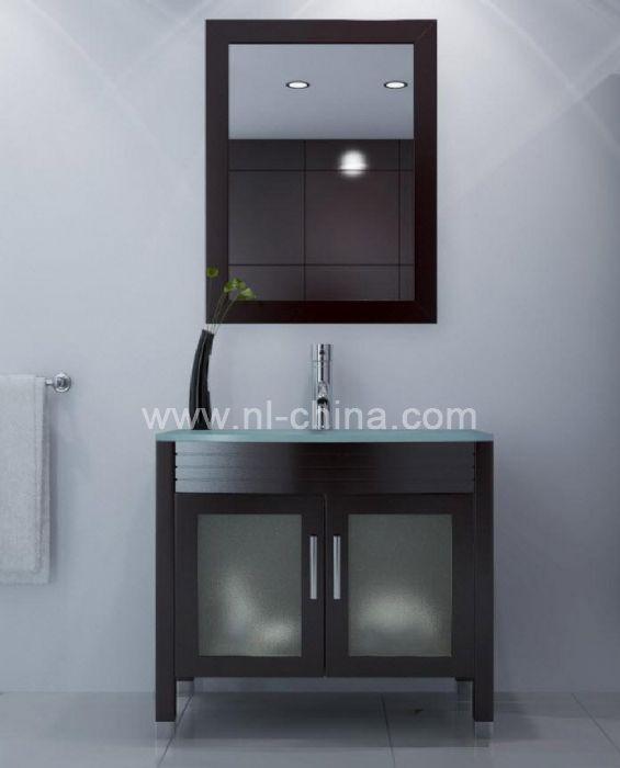 45 Inch Black Lacquer Bathroom Vanity With 1200 Tall Bathroom Vanity B 8740