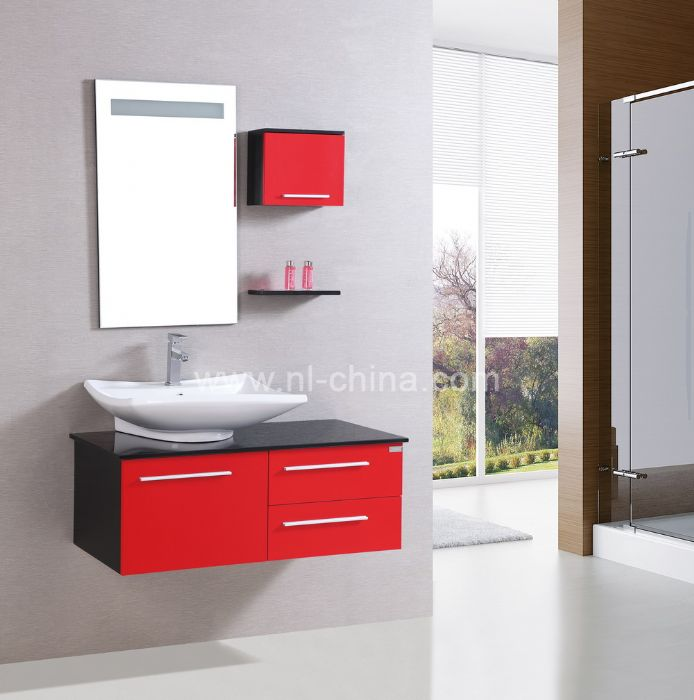 Good Quality Bathroom Furniture. Good Quality One Piece Vanity Top Designer Red Bathroom Mirror Cabinet B 8090