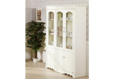 ... Hot Sales High Gloss Wall Shelf Bookcases Cabinet Book (KB 7030)