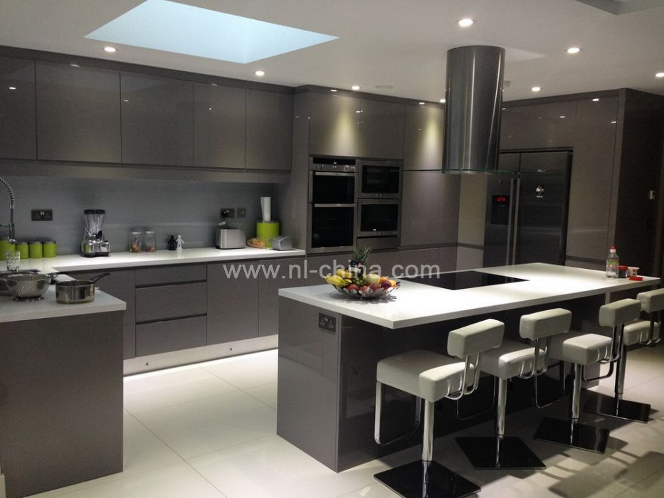 ... High Gloss Lacquer Home Furniture Kitchen Cabinet Door ( KC-1020) ...
