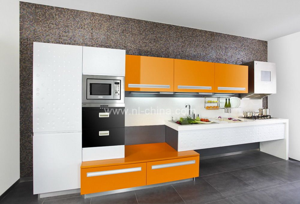 Steel Tv Stand Designs : Orange color painting kitchen cabinets (kc