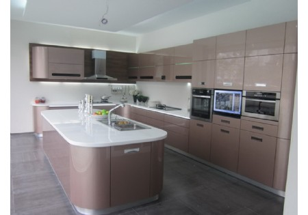 Lacquer kitchen cabinet manufactuer high gloss kitchen supplier – High Gloss Lacquer Kitchen Cabinets