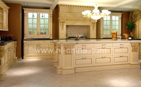 European Kitchen Cabinets Wholesale Luxury Solid Wood Kitchen