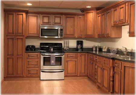 Customized Traditional Furniture Solid Wood Kitchen Cabinet Sets Kc 4040