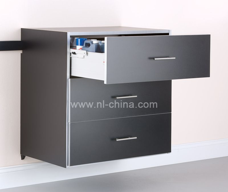 Modern High Gloss Orange Kitchen Cabinet Knock Down Home: Garage Used Metal Tools Cabinet / Tools Storage Chest(KG-6080