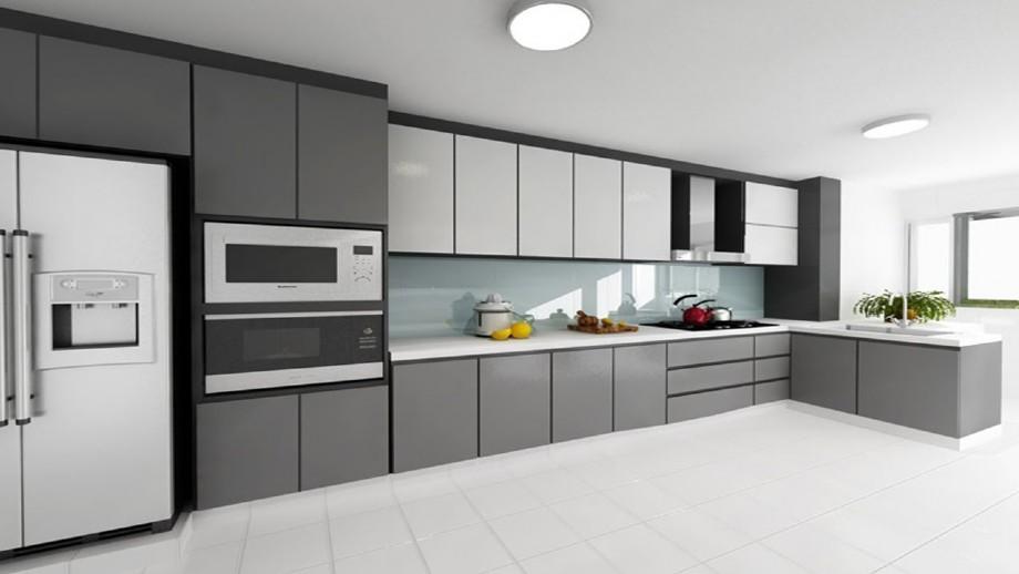 18mm Modular Mfc Cabinet Modern Kitchen Carcass Design Kc 2100 N ϽŒfurniture