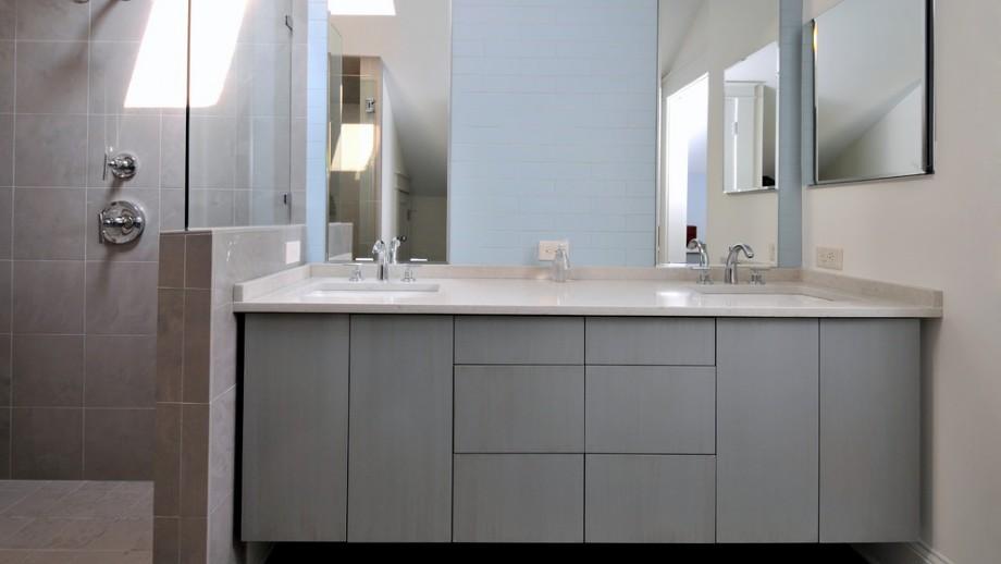 Cheap Single Wall Mounted Lowes 12 Inch Deep Pvc Bathroom Vanity B 8040 N lfurniture